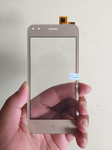 MrSpares Touch Screen digitizer Panel Part for Micromax Bharat 3 Q437 : Gold