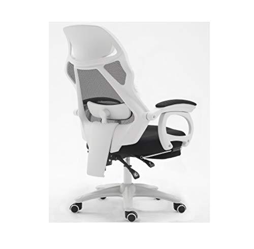 lombaire de de chaise coucher chaise Tourner ascenseur WJJP jeu Maison bureau de chaise faire glisser massage ordinateur Chaises se d'oreiller maille 80wOknP
