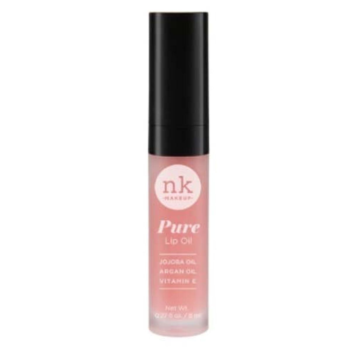 カメ政治家面白い(6 Pack) NICKA K Pure Lip Oil - Fruit Punch (並行輸入品)
