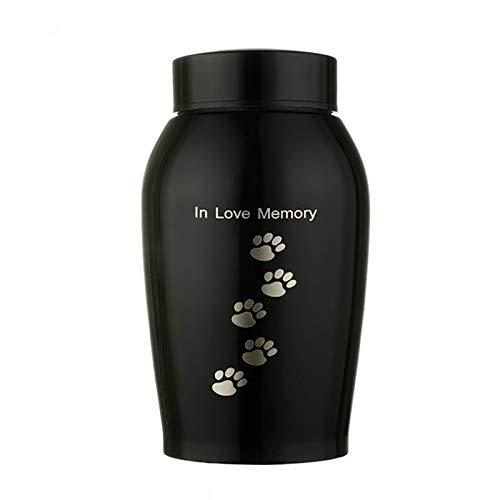 WMPRTT Haustier Katze Hund Vogel Kaninchen Urnen Kleintiere Feuerbestattung Urne/Sarg (500ML Footprint)
