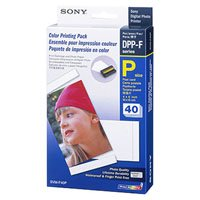 Sony Print Paper For DPP-FP30 - 40 Sheets