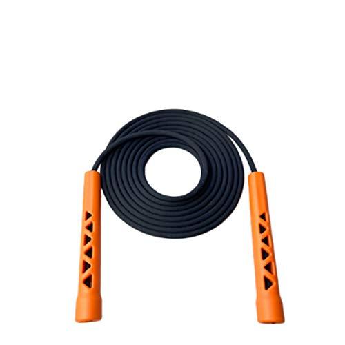 Corda per saltare Crossfit per uomo Donna con manico cavo creativo Corda per saltare Corda per saltare per fitness Esercizio a intervalli di fitness Vita quotidiana Crossfit, 3M (one size, arancia)