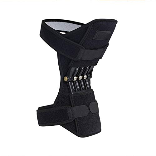 1PCS Spring Knee Support Tibial Booster Mountaineering Squat Cushion Tibial Posterior Knee Joint Protection Power Lift Pad
