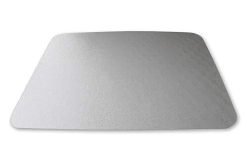 KAISER PLASTIC® Napfunterlage | Made-IN-Germany | 60 x 80 cm | Transparent | Für Hunde und Katzen | Easy Clean | Premium Qualität