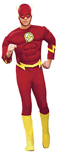 Rubie's - Disfraz de superhéroe para hombre Flash, talla M (888079M)
