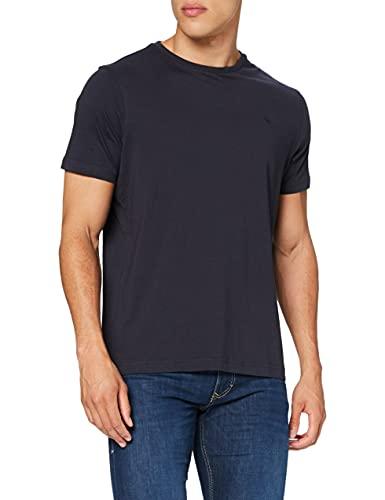 LERROS Herren LERROS Herren Rundhals T-Shirt T-Shirt,,per pack Blau (Night Blue 480),XX-Large