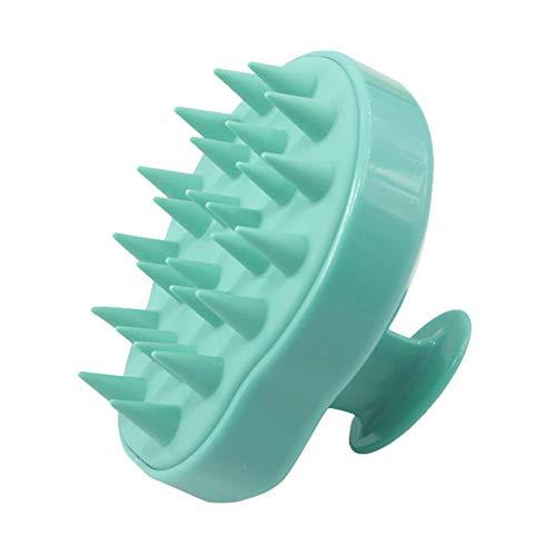 lzndeal Brosse de Massage pour Spa Shampooing pour Le Corps de la tête en Silicone Brosse pour Le Cuir chevelu Lave-Cheveux Brosse de Douche