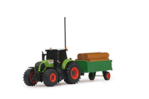 RC Auto kaufen Traktor Bild 6: Jamara 403702 - RC Claas Axion 850 1:28 mit Holzanhänger inklusive Fernsteuerung*