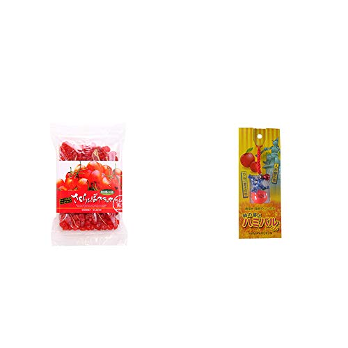 [2点セット] 収穫の朝 さくらんぼグラッセ ラム酒風味(180g)・信州・飯田のシンボル 時の番人ハミパルくんストラップ