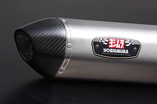 ヨシムラ フルエキゾースト ADV150(20:国内仕様/19:インドネシア仕様) R-77S サイクロン 政府認証 EXPORT SPEC サテンフィニッシュカバー 110A-43C-5130