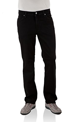 MUSTANG Herren Jeans Tramper - Slim Fit oder Tapered Fit in vielen Waschungen, Größe:W 34 L 34, Farbe:Midnight Black (111-3175-490)