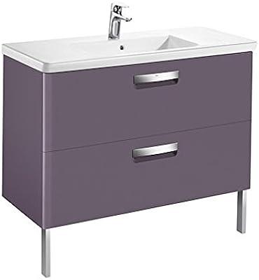 Roca–Unik (Meuble lavabo Base et)–Série The Gap, Couleur Raisin