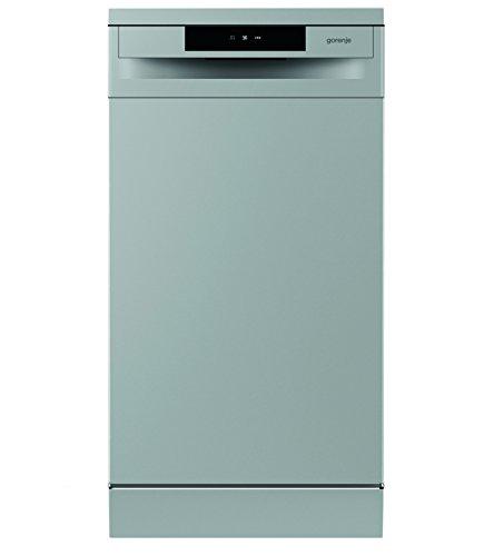 Gorenje GS 52010 S SmartFlex Essential/Freistehender Geschirrspüler/A++/9 Maßgedecke/197 kWh/Jahr/45 cm/Total AquaStop/silber