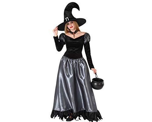 Atosa-61468 Atosa-61468 kostuum voor meisjes, Halloween, dames, 61468, grijs, jongen