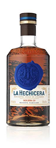 La Hechicera Fine Aged Rum from Colombia (1 x 0.7 l)