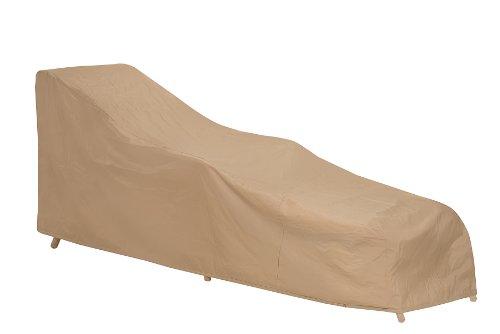 Coques de Protection 1121-tn résistant aux intempéries Coque pour en Osier/rotin Chaise Lounge, Tan