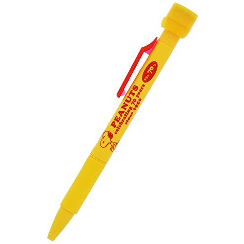 サンスター文具 スヌーピー 油性ボールペン スタンプ付ボールペン ピーナッツ70周年 70年代 S4645626