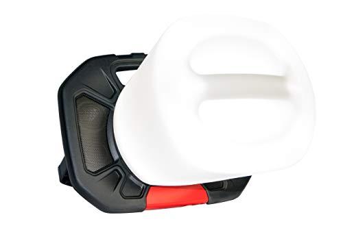 SBK-Set 1002: 40W LED-Baustrahler mit Bluetooth und Aufsatz für 360° Beleuchtung