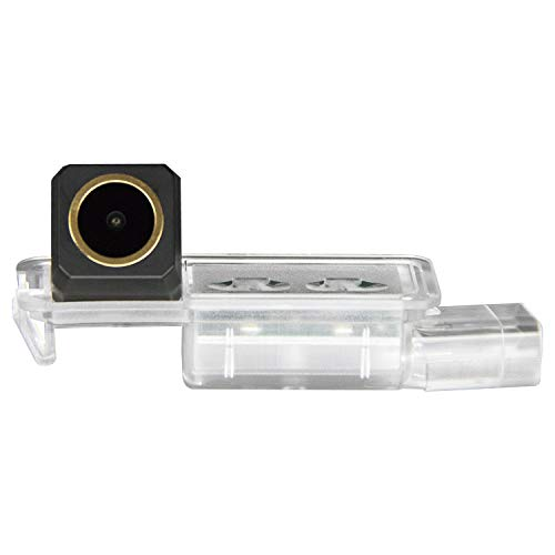 HD 1280x720p Goldene Kamera Wasserdicht Nachtsicht Rückfahrkamera Einparkhilfe für SEAT Ibiza 6L 6J SC MK3 MK4 MK5 VW Polo 6R Golf 7 MK7/VII/Skoda Scirocco/Seat Leon 5F/Lamando troc T-ROC