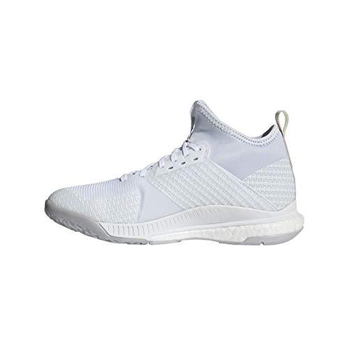 adidas Crazyflight X 2 Mid, Scarpe da Pallavolo Donna, Bianco (Ftwwht/Silvmt/Gretwo Ftwwht/Silvmt/Gretwo), 36 2/3 EU