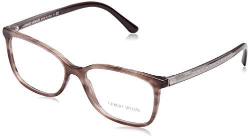 Armani Damen 0AR7149 Brillengestell, Striped Pink, 66