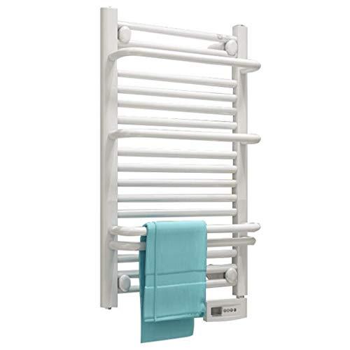 ZXCV Toallero Electrico Una Llave De Inicio Inteligente Control De Temperatura Montaje De La Pared 400W Toalla Eléctrica Toalla Eléctrica Toams De Secado del Baño Rack De Secado De Baño