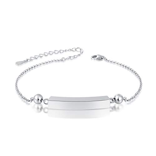 Jinlou 925 Sterling Silver Urn Bracelet for Ashes Memorial Loved Ones Cremation Bangle ash Jewelry