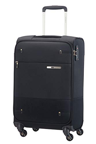 Samsonite Base Boost - Spinner S (Length: 35 cm) Hand Luggage, 55 cm, 35 Litre, Black