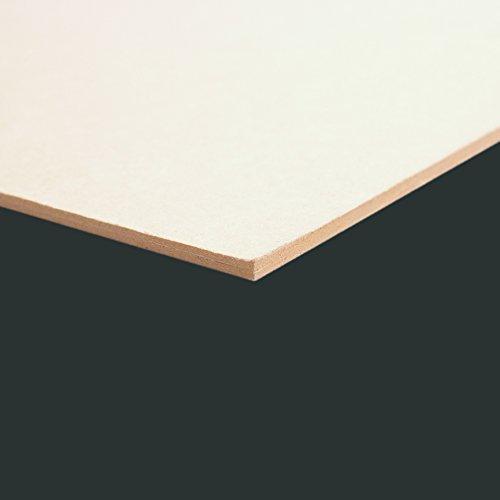 Clairefontaine 93972C Pappe Bogen (60 x 80 cm, 3 mm, 1920 g, ideal für Modellbau, leicht und glatt, 100% recycelt) grau