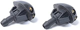 MeterMall 1 Coppia di ugelli per tergicristallo Posteriore per Audi A3 A4 8E9955985
