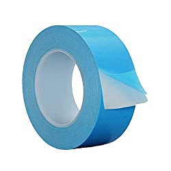 AIYUNNI Thermal Adhesive Tape 30mm by 25M,Double Sided Thermally Conductive Tapes,Cooling Tape for Heat Sink,SSD Drives,Computer CPU,GPU,LED,Coolers