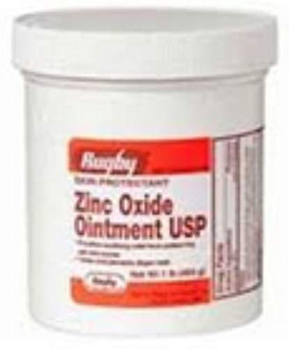 Rugby Zinc Oxide Ointment 1 lb Pack of 5