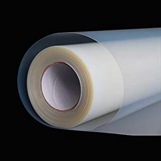 """13""""x100ft.Screen Printing Film 1 Roll Waterproof Inkjet Transparent Film for Water-based Pigment and Dye Printers"""