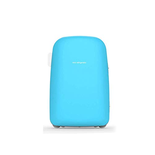 Portable 28L Capacity MiniKoelkast 12v 220v, Electric Cool Box Car koelkast, koude en warme Koeling Temperatuur Difference 28 deg;C Geschikt for Auto Met Thuis (Kleur: Blauw) LOLDF1