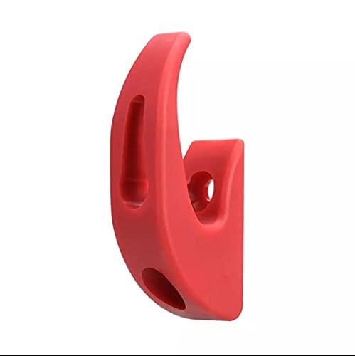 Gancho Rojo Patinete Eléctrico Xiaomi Delantero Garra de suspensión - Kit de...