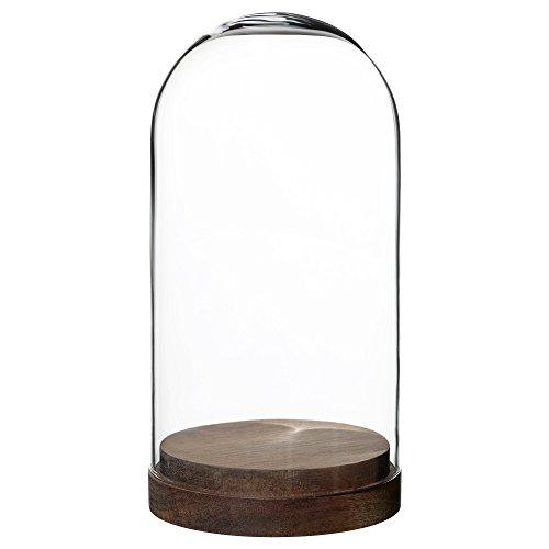IKEA イケア HARLIGA ガラスドーム ベース付き 503.272.51,50327251
