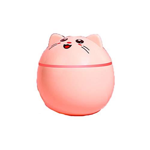 Shengyang El Nuevo humidificador, Mini Humidificador de Pet Lindo, Humidificador de Dormitorio, Humidificador de Oficina, Humidificador de Aire de Aromaterapia, -Pale Pinkish Gray