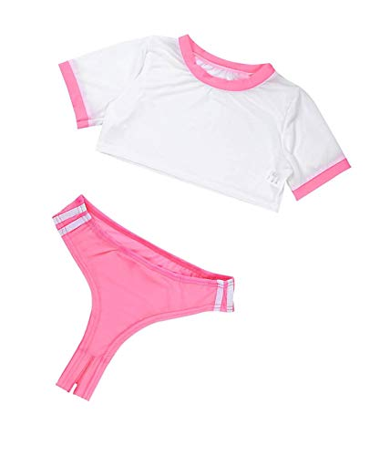 Unibaby Women Girls Anime Cosplay Costume Japanese Schoolgirl Uniform Outfit Sexy Lingerie Set