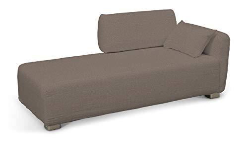 Dekoria Mysinge Recamiere Sofabezug Husse passend für IKEA Modell Mysinge braun