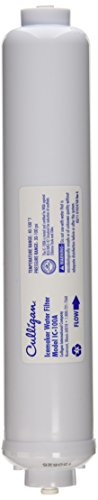 Culligan IC-100A Level 1 Recreational Vehicle Water Filter Replacement Cartridge for Icemakers and Refrigerators, 2,500 Gallon, White