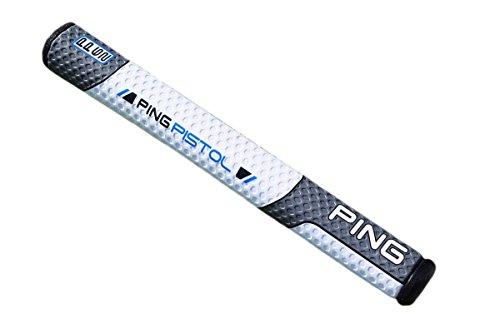 NEW PING Pistol PP62 Vault White/Gray/Blue Oversize Non-Taper Putter Grip