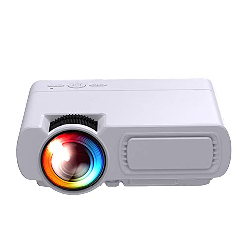 LXLTLB Home Cinema Led Video Projector 4K Image Transmission Wifi/bluetooth Audio Connection 1280-720 Full Hd Widely TF Cards, AV Input Compatible KTV Equipment