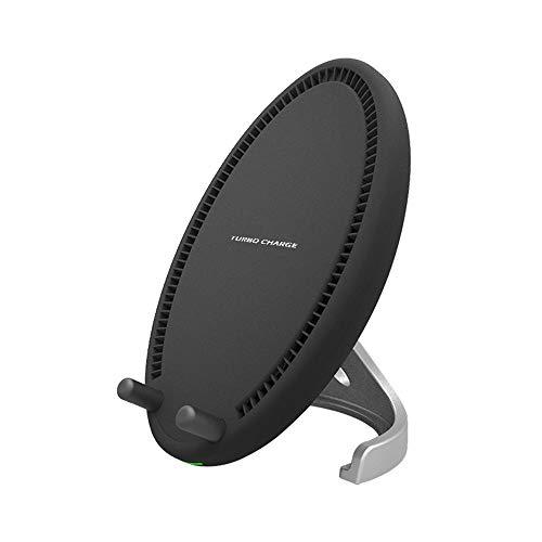 Hengta Wireless Charger Kabelloses Ladegerät, QI-Kühlung, schneller Ladevorgang, integrierter Lüfter, abnehmbare Universalhalterung für Mobiltelefone