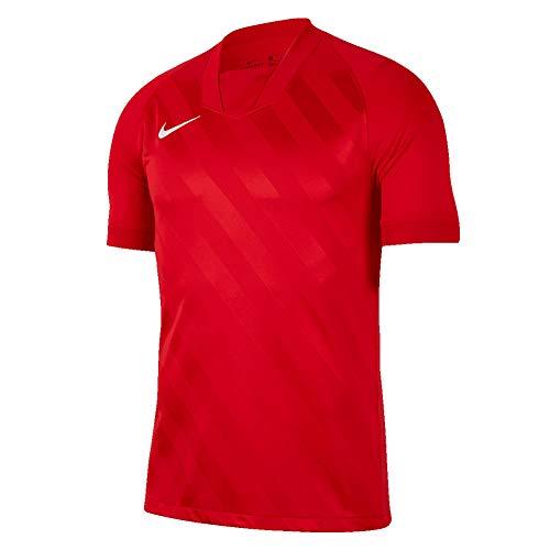 Nike Herren Challenge III Jersey SS Trikot, University Red/University Red/(White), XL