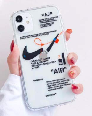 Funda para iPhone Nike Off White (iPhone 11 Pro Max/ 11 Pro / 11/ X/XS Max/SE (2020)/XR) (iPhone 11 Pro)