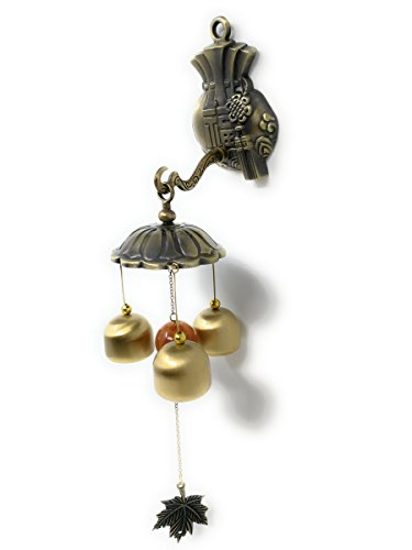 THY COLLECTIBLES Feng Shui Brass Door Chime Wind Chime...