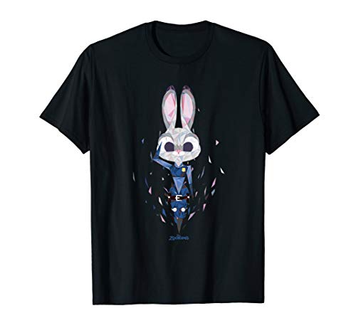 Disney Zootopia Officer Judy Hopps Geometric Salute T-Shirt