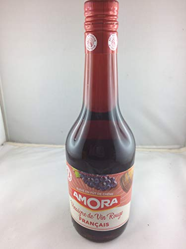 Vinagre para vino tinto Amora 600 ml