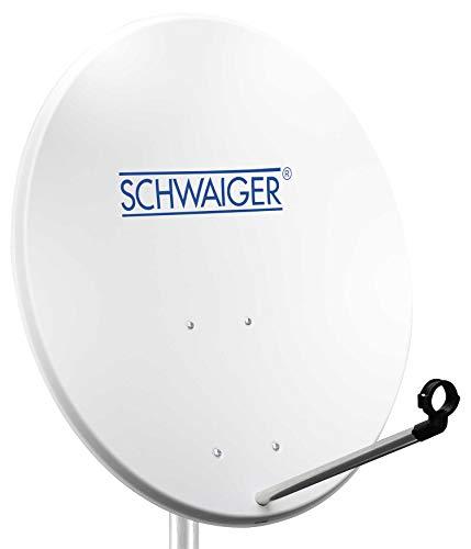 8. Schwaiger – Antena parabólica de 80 cm. | Brillante.