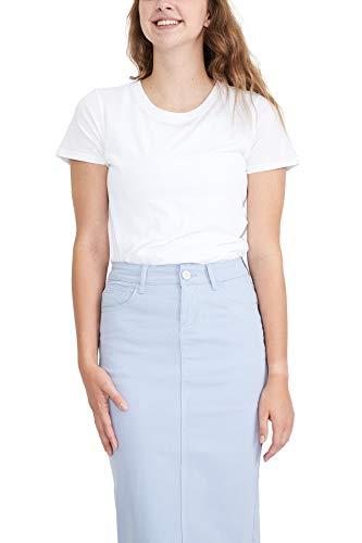 """Inherit 29"""" Remi Tiffany Blue Midi Skirt"""